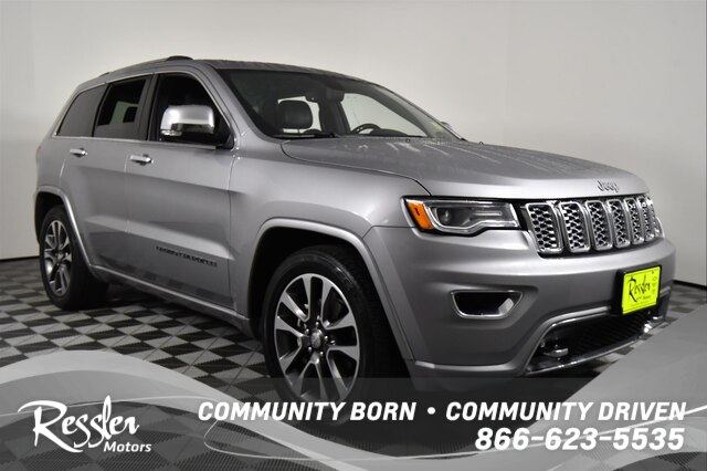 Jeep Grand Cherokee Overland >> Pre Owned 2018 Jeep Grand Cherokee Overland With Navigation 4wd