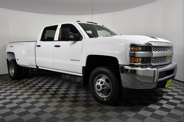 New 2019 Chevrolet Silverado 3500hd Work Truck Truck In Bozeman