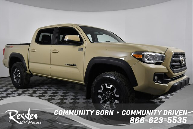 Certified Pre Owned 2017 Toyota Tacoma Trd Off Road V6