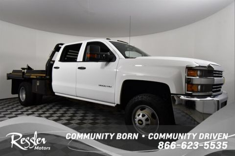 Pre-Owned 2016 Chevrolet Silverado 3500HD WT