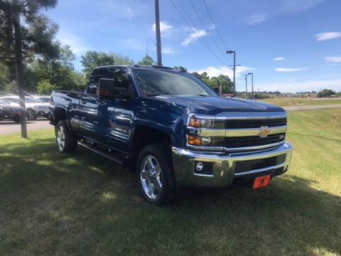 Pre-Owned 2015 Chevrolet Silverado 2500HD LT 4x4 Truck Double Cab