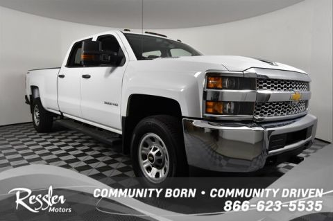Pre-Owned 2019 Chevrolet Silverado 3500HD WT