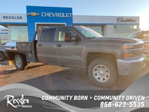 Pre-Owned 2015 Chevrolet Silverado 3500HD WT