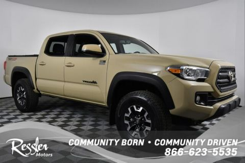 Certified Pre-Owned 2017 Toyota Tacoma TRD Off Road V6