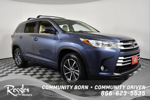 Certified Pre-Owned 2018 Toyota Highlander XLE V6